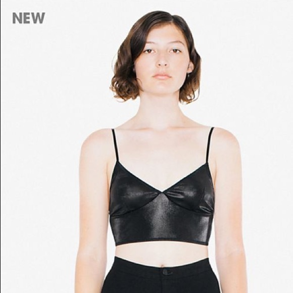 1c201386e4 American Apparel Tops - American Apparel metallic bralette